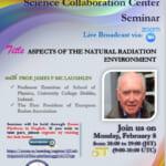 The 1st International Radiation Science Collaboration Center Seminar