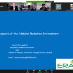 Holding the 1st International Radiation Science Collaboration Center Seminar