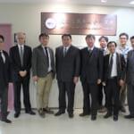 浪江町議会議員が学長を表敬訪問