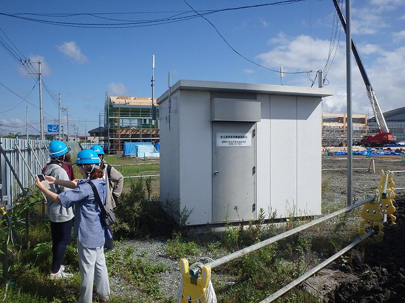 環境防災を学ぶ学生のための教育プログラムを実施しました